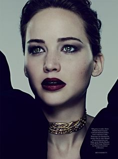 Les Beehive – Jennifer Lawrence by Ben Hassett for Harper's Bazaar UK, November 2013