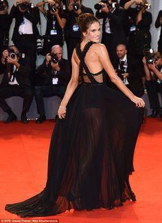Venice Film Festival 2015 Red Carpet: Alessandra Ambrosio in Philosophy Fall 2015 - September 3, 2015