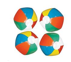 If you're hosting a beach party or Hawaiian luau, these mini inflatable beach balls are a must-have for your event! These mini vinyl beach balls are fun . Fun Pool Games, Beach Party Games, Slumber Party Games, Adult Luau Party, Hawaiian Luau Party, Hawaiian Theme, Hawaiian Birthday, Olaf Birthday, Frozen Birthday Party