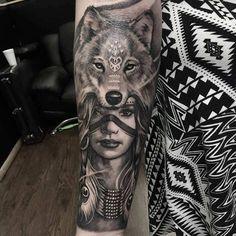 Trendy Tattoo Bein Waden - Famous Last Words Wolf Tattoos, Native Tattoos, Dream Tattoos, Elephant Tattoos, Finger Tattoos, Leg Tattoos, Body Art Tattoos, Sleeve Tattoos, Cross Tattoos