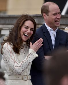 13.05.2017 Księżna Kate: Party w Pałacu: William, Kate i Harry Host Very Special Tea Party!