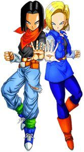 Future Android 17 and 18 League Of Legends Characters, Dbz Characters, Dragon Ball Gt, Buu Dbz, Dbz Androids, Power Rangers, Black Spiderman, Fanart, Akira