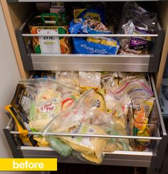 Pantry Before & After: How a Labeler and New Containers Transformed My Pantry