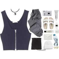 """""""nonchalant."""" by gre17 on Polyvore"""