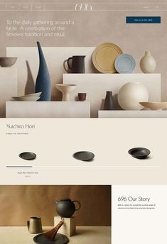 696 NYC Ceramics is a beautiful project which has been featured and awarded by Mindsparkle Mag´s best selection of modern Design. Web Design Trends, Ecommerce Web Design, Web Design Tips, Page Design, Web Design Awards, Report Design, Beautiful Website Design, Simple Web Design, Modern Web Design
