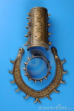 Naga Tribal Jewelry Royalty Free Stock Photo - Image: 8293145