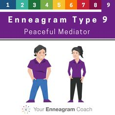 Enneagram Type 9 - Discover, Explore, and Become your best self with Enneagram coach Beth McCord. Contact her at beth@yourenneagramcoach.com.  YourEnneagramCoach.com