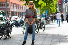 The Best Beauty Street Style From Stockholm Fashion Week
