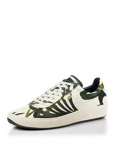 PUMA Lace Up Sneakers - House of Hackney x PUMA Palm Print | Bloomingdale's