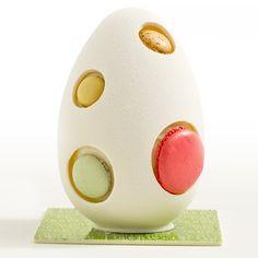 The egg badge Egg Shell Art, Egg Shells, Culinary Arts, Food Design, Easter Eggs, Cakes, Logos, Spring, Desserts