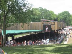 Meriweather Post Pavilion is an outdoor concert venue located in Columbia, Maryland...XoXo