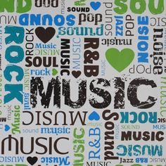 Papel de parede música estilos musicais - PA8363