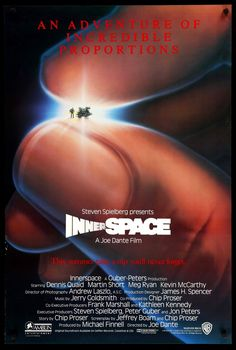 Innerspace (1987) Original One Sheet Movie Poster