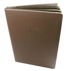 Restaurant Leather Menu Cover Basic features: Material: Genuine leather \ PU \PVC Basic Sizes:14 20CM Color: Black - Brown - White - What ever As You Need Logo : Emboss - Digital Print - Gold Letter Print - Metal Plate with logo Price : Reasonable(A UNIQUE compact Design price can be nicer for more quantity) Order: min. 10 pcs. to max. 50 Lead time: Production lead time: 20-25days. packing: General packing: With Polybag per piece in standard export carton 25pcs/ctn Special packing: As per…