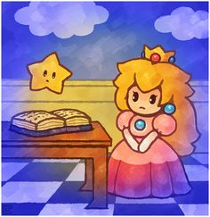 Paper Mario 64: I Hope She Likes Me... by Cavea.deviantart.com on @DeviantArt
