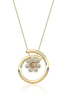 CaratLane Magnolia Floral Pendant - Buy Women Pendants and Pendant Sets Online | CA150JW67FVCINDFAS