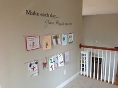 Easy DIY Kids Art Display Project - $20 and 20 minutes