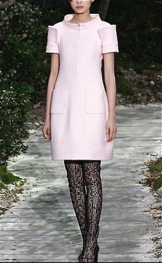 Chanel - pretty in pink.