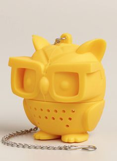 Cool Silicone Owl Tea Infuser http://rstyle.me/n/tnf6ebh9c7