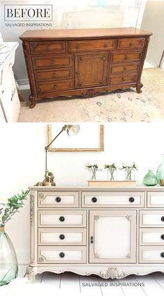 Refurbished Furniture, Repurposed Furniture, Furniture Makeover, Cool Furniture, Painted Furniture, Furniture Design, Bedroom Furniture, Rustic Furniture, Fireplace Furniture