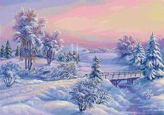 Зимний пейзаж 4, предпросмотр