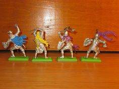 c29FP LOT OF 8 VINTAGE 1/32  BRITAINS DEETAIL KNIGHTS & SARACEN  in Toys & Hobbies, Toy Soldiers, 1970-Now | eBay