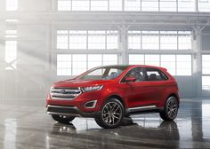 The 2015 Ford Edge Crossover SUV and in this post we will take a look at 2015 Edge Ford Design and features of both Exterior and Interior De...