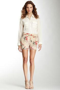 Attic and Barn Kruli Printed Silk Short by Non Specific on @HauteLook - pretty only $35.00