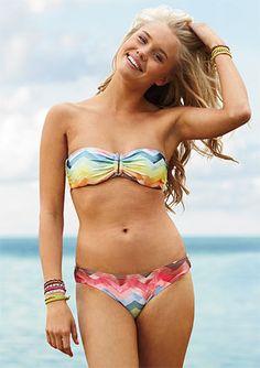 Ridiculously tiny bikini
