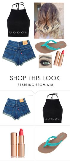 """""""Untitled #242"""" by beachlover44 ❤ liked on Polyvore featuring Boohoo, Charlotte Tilbury and Volcom"""