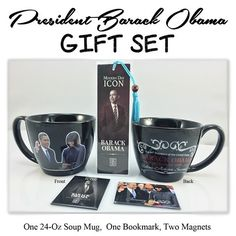 President Barack Obama Gift Set by DDBProductions on Etsy
