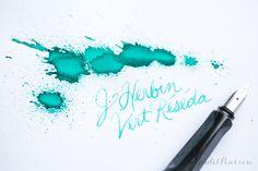 fountain pen ink review sheet - Buscar con Google