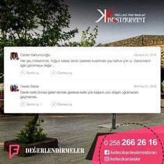 Your feedback is valuable to us!  I www.kellecikardesler.co 0 258 266 26 16  #bald#Ramadan#Recipes Ramadan Recipes, Special Occasion