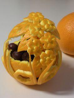 vegetable carving centerpiece