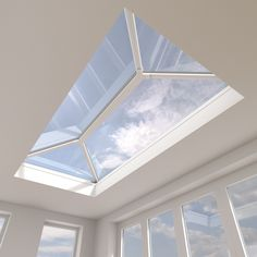 Skypod Glass Roof Lantern Stylish minimalistic look. Contemporary & eye-catching design floods the interior with natural light. Cost-effective way to enhance a tired flat roof extension . Pergola With Roof, Patio Roof, Pergola Kits, Pergola Ideas, Cheap Pergola, Roof Design, House Design, Pvc Roofing, Conservatory Roof
