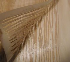 If your staircase looks anything like this one, let me show you just how easy it is to give it a real wood look and bring it back to it's former glory. [media_i…