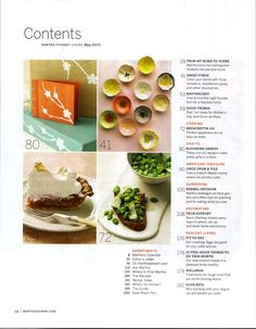 620 Best Yearbook design elements, inspiration & mod ideas ...Food Magazine Table Of Contents