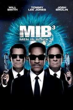 Men in Black 3 (Two Disc Combo: Blu-ray / DVD + UltraViolet Digital Copy) - In Men in Black™ Agents J (Will Smith) and K (Tommy Lee Jones) are back. in time. J has seen some inexplicable things in his 15 years with the Men in Black, but nothin Tommy Lee Jones, Men In Black, Will Smith, Mib Movie, Movie Tv, Emma Thompson, Movies And Series, Movies And Tv Shows, Tv Shows
