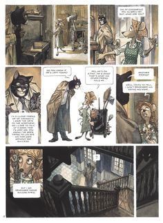 Blacksad Comic | Blacksad Preview Pages