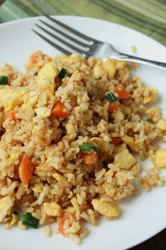 Low-Fructose & Gluten-Free Chinese Fried Rice