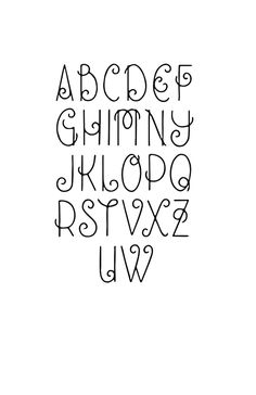 Online home school high school result for creative fonts alphabet Creative Lettering, Lettering Styles, Brush Lettering, Bullet Journal Font, Journal Fonts, Journaling, Fancy Writing, Writing Fonts, Hand Lettering Alphabet