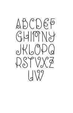Online home school high school result for creative fonts alphabet Bullet Journal Font, Journal Fonts, Journaling, Hand Lettering Alphabet, Calligraphy Letters, Handwriting Fonts Alphabet, Cool Fonts Alphabet, Creative Lettering, Lettering Styles