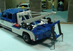 "1977 Ford Crew Cab Wrecker ""Few New Pics!"" - Under Glass: Pickups, Vans, SUVs, Light Commercial - Model Cars Magazine Forum Kit Cars, Car Kits, Model Truck Kits, Model Cars Building, Farm Toys, John Deere Tractors, Tow Truck, Old Trucks, Plastic Models"
