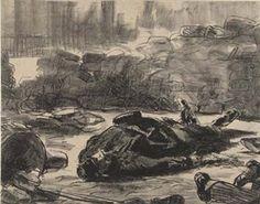 Guerre Civile By Édouard Manet ,1871
