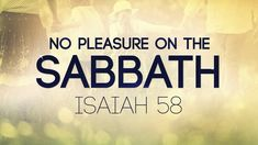 Does Isaiah mean that we cannot have any pleasure on the Sabbath? Once again, context is everything. 119 Ministries, Isaiah 13, Biblical Names, Sabbath Day, Bible Knowledge, Torah, Christian Quotes, Bible Quotes, Need To Know
