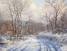 A Fine Day in Winter by Andrew Orr Oil ~ 12 x 16