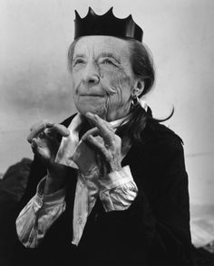 Louise Bourgeois, shot by Bruce Weber for Helmut Lang