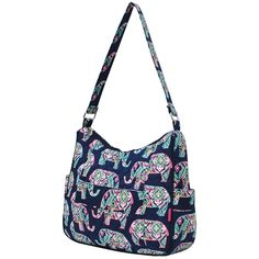 13bad67c81 Ngil Quilted Cotton Hobo Shoulder Bag