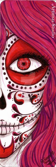 Pink Death 1.5 by ArtimasStudio