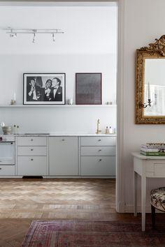 Shelf in kitchen